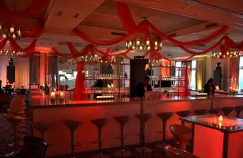 Event-Production-Ceiling-Treatment-Illuminated-Bar-and-Scoop-Stools
