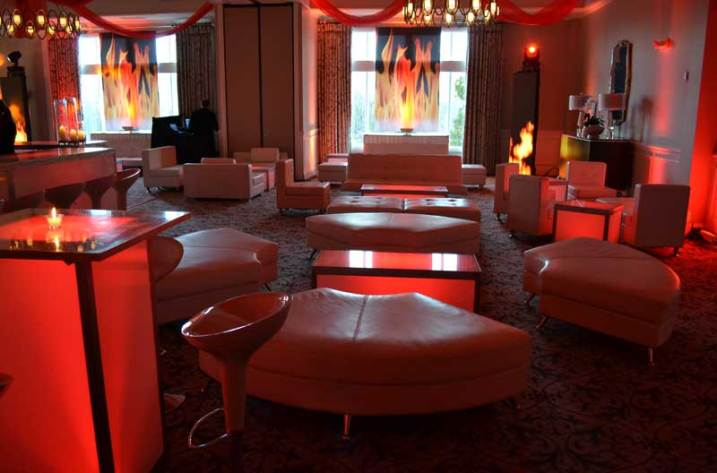 Event-Production-Curved-Seating-Glow-Cubes-and-Fire-Props