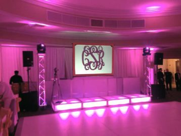 Sweet-16-LED-Stage-Decks-Truss-Lighting-and-Video-Wall