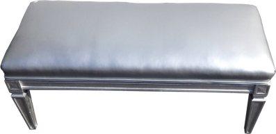silver bench