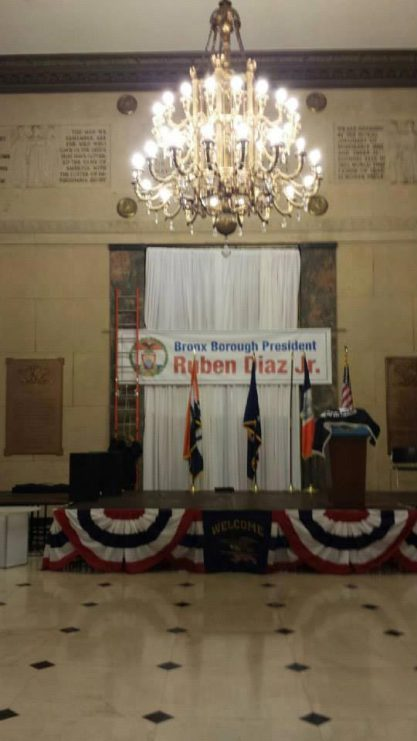 Political-Event-Production-Staging-Podium-drapes-and-banner