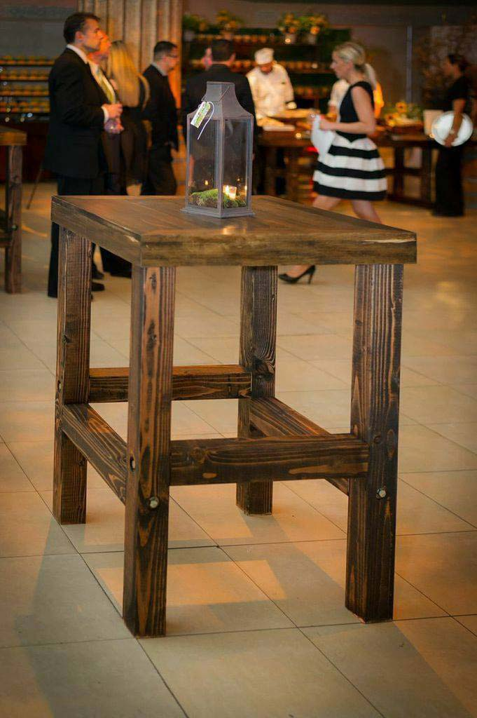 wooden-side-table-with-rustic-candle-holder