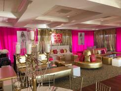 Gold-and-pink-lounge-decor
