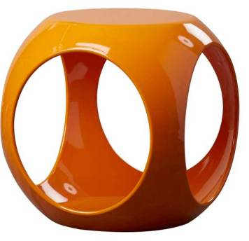 Modern-table-orange
