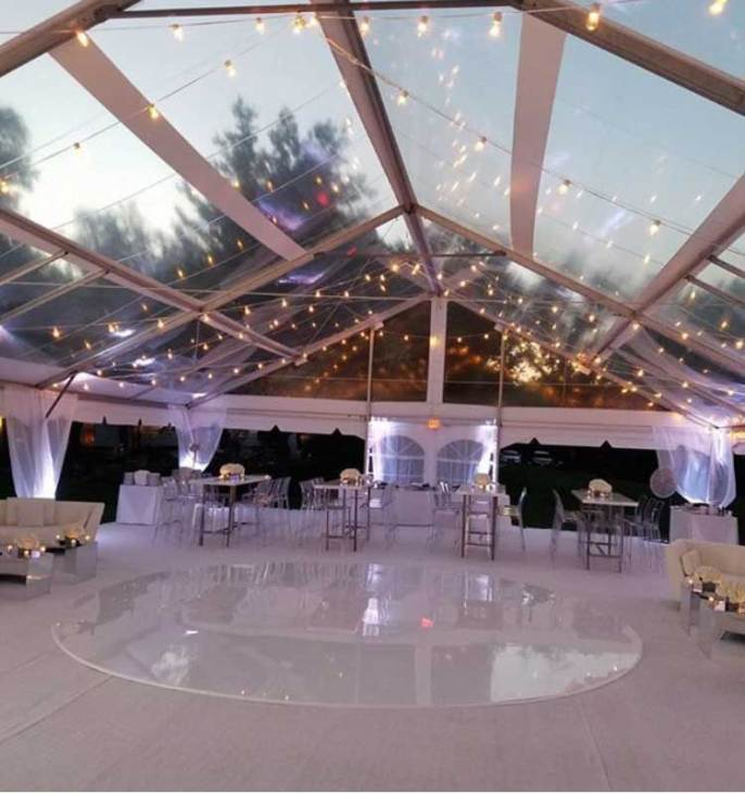 White-Round-Acrylic-Floor-for-event