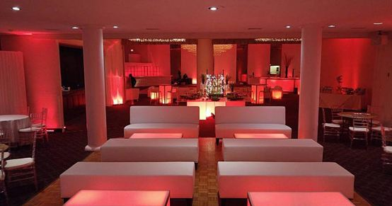 Event-furniture-white-club-benches-illuminante-conversation-tables-uplighting