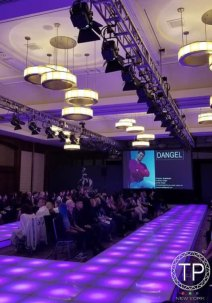 LED-stage-decks-with-chairs-for-fashion-runway-circular-chandeliers