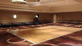 portable traditional wooden dance floor