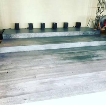 portable wooden dance floor