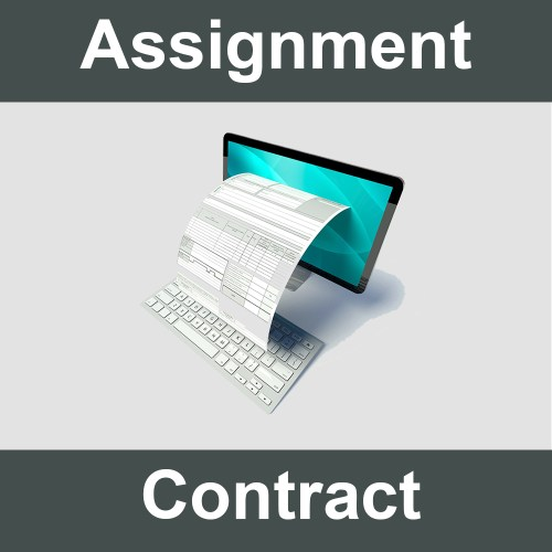 Assignment Contract form.