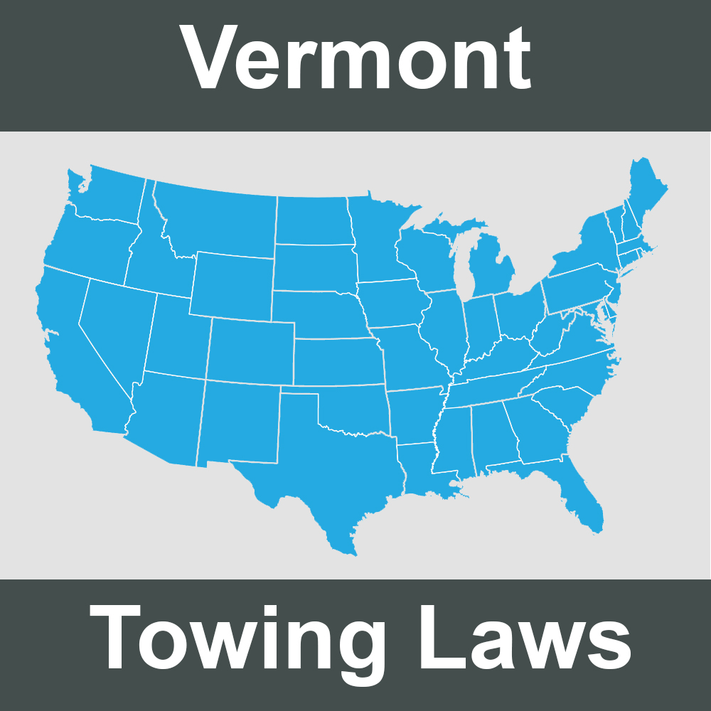Vermont Towing Laws