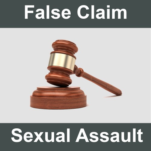 False Claims of Sexual Assault