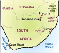 Southafricamap