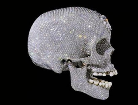 $100 Million Damien Hirst Diamond-Encrusted Skull Unveiled ...