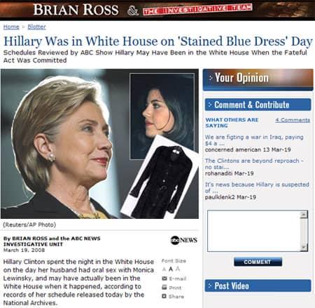 Hillarybluedress