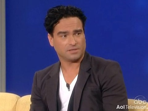 Johnny Galecki gay