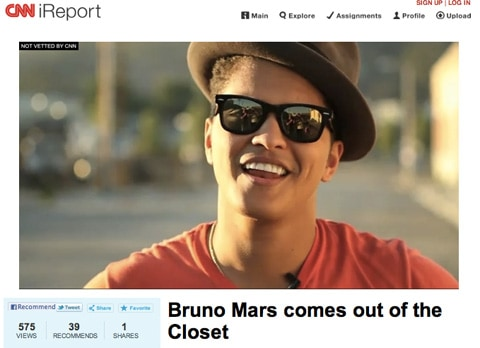 Bruno Mars Did Not Come Out of the Closet Towleroad