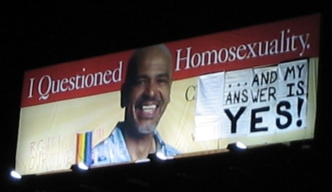 Ex-gayprotest