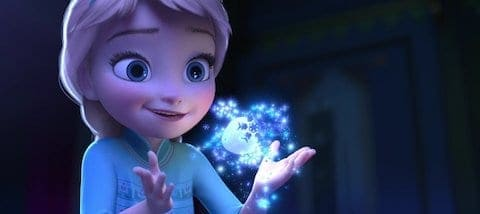 Frozen Young Elsa