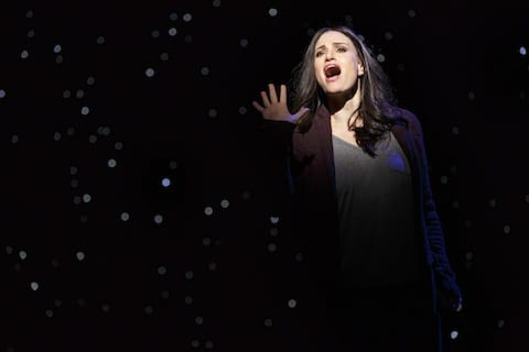 Idina Menzel in If Then photo by Joan Marcus 0299r