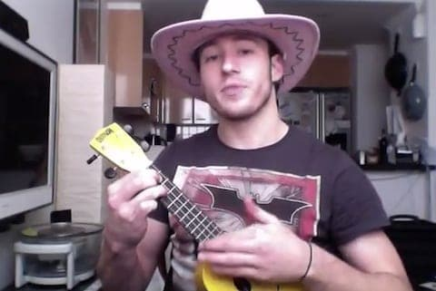 Matthew mitcham covers dolly parton's dumb blonde