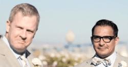 Gay slurs at california wedding