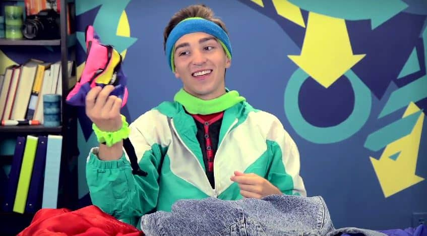 teens react to leg warmers neon headbands and other 80s