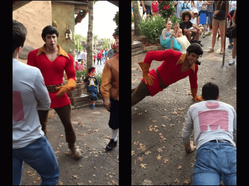 gay Disney gaston