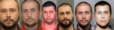 George Zimmerman mugshots
