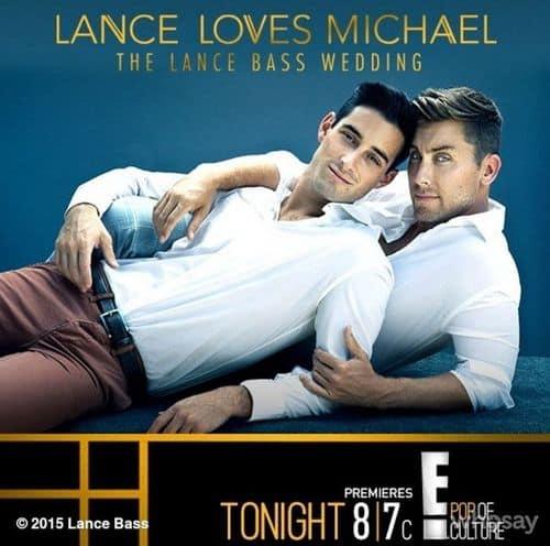 Lance loves michael
