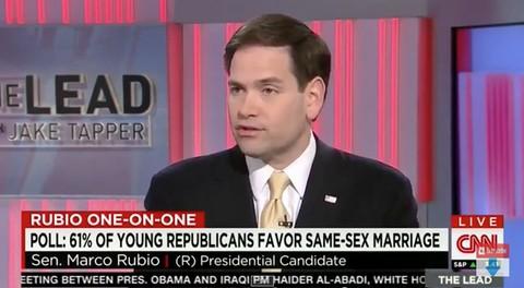 Marco rubio same sex marriage