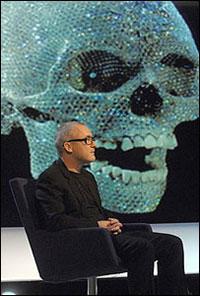 Damien Hirst and Diamond Skull