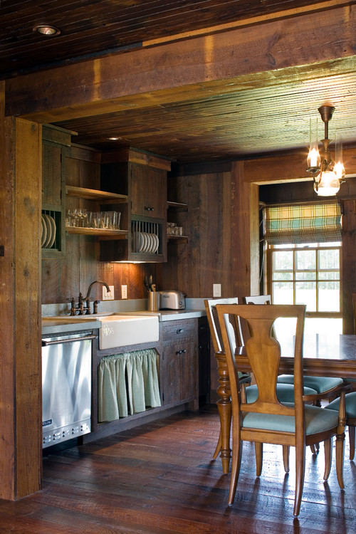 Cabin Style Decorating Ideas - Town & Country Living on Rustic:fkvt0Ptafus= Farmhouse Kitchen Ideas  id=93266