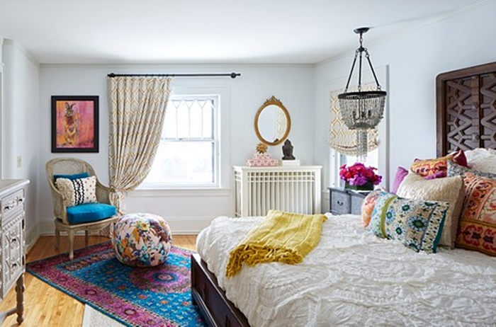 Boho Chic Style: Are You a Fan? - Town & Country Living on Boho Bedroom  id=71998