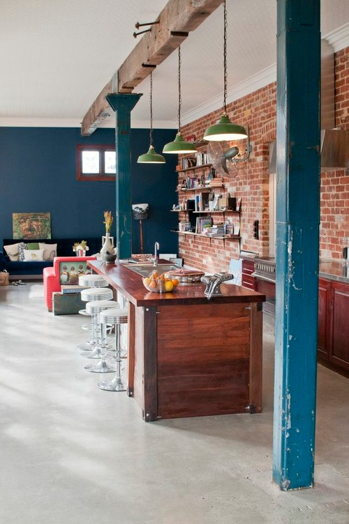 Exposed Brick Walls Inspiring Examples Town Amp Country