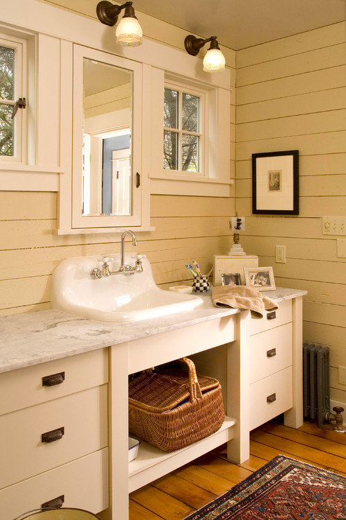 A Collection of Bathroom Vanities - Town & Country Living on Rural Bathroom  id=90913