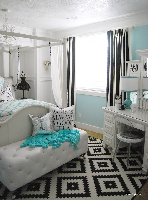 Home by Heidi: Charming Home Tour - Town & Country Living on Teen Room Girl  id=82096