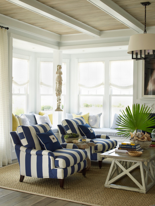 We may earn commission on some of the items you choose to buy. Decorating with Navy Blue - Town & Country Living