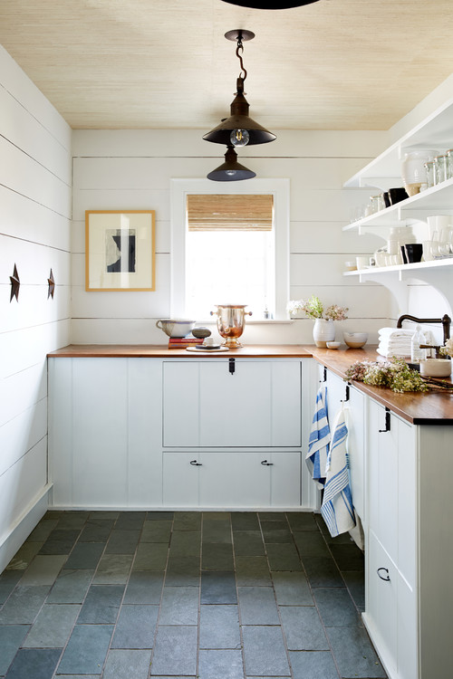 Reasons to Install Butcher Block Counter Tops - Town ... on Farmhouse Countertops  id=20828