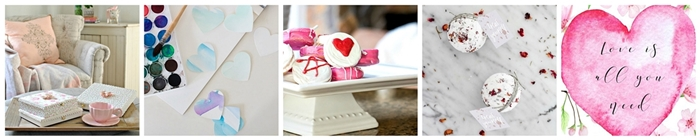 Valentine DIY Projects. Heartfelt and Handmade
