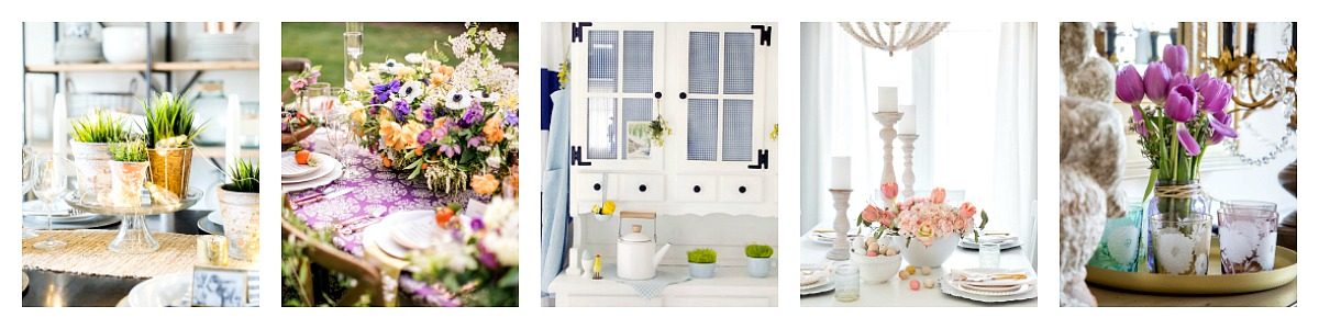 Spring Styling - Dining Room