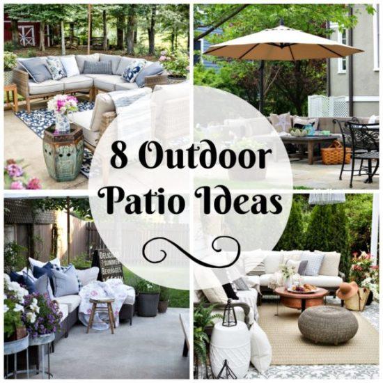 8 patio ideas for outdoor entertaining