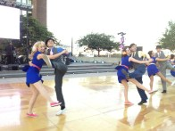 Performers from the Syncopated City Dance Company (Photo by Sabina Mollot)
