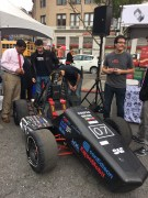 Racecar built by Cooper Union students