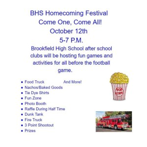 Brookfield High School Homecoming Festival