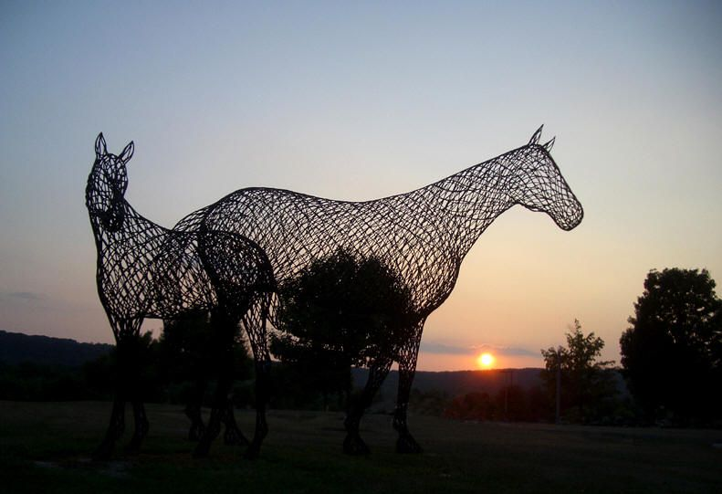 Brookfield Sculpture Horses