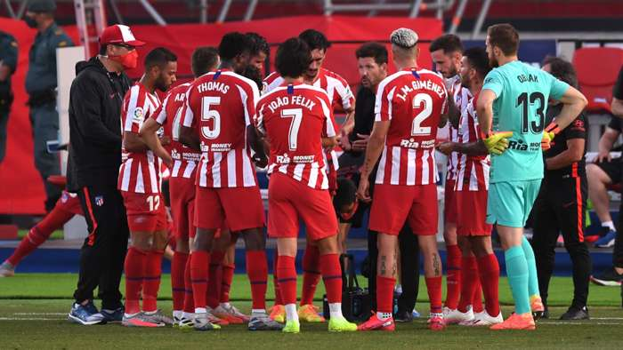 Two Atletico Madrid Players Test Positive For Coronavirus Ahead Of Champions League clash