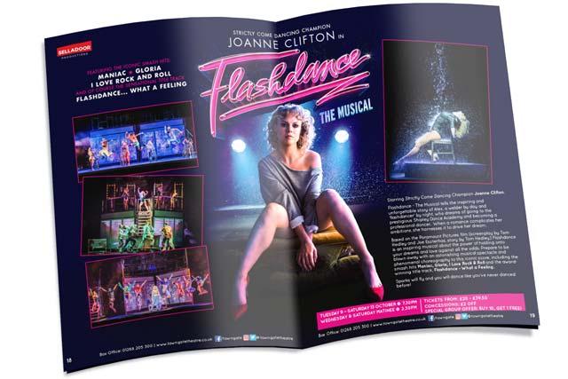 Towngate Theatre brochure