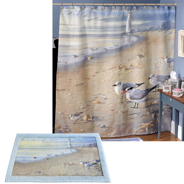 At The Beach Shower Curtain Amp Bath Accessories Townhouse