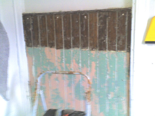 How to remove paint from beadboard (3/5)